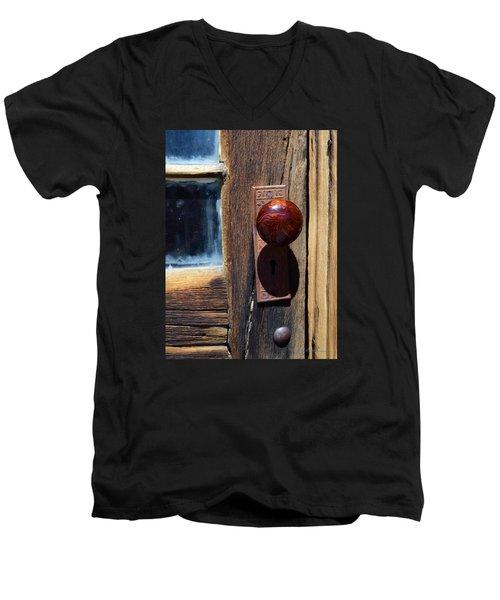 A Door To The Past Men's V-Neck T-Shirt
