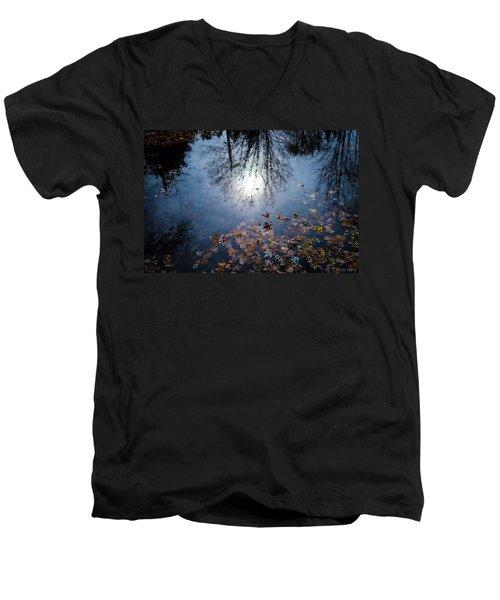 A Fall Day Men's V-Neck T-Shirt