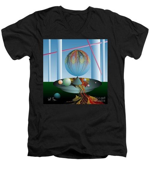 A Kind Of Magic Men's V-Neck T-Shirt by Leo Symon