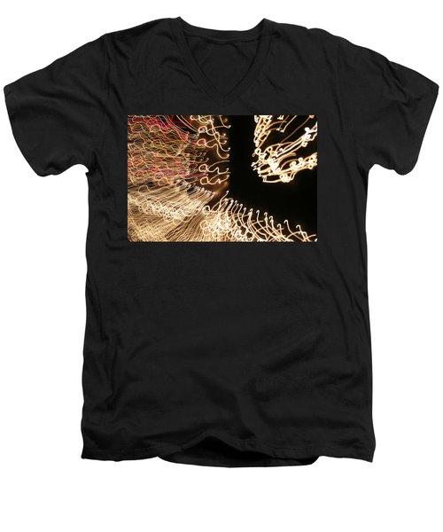 A Light Abstraction Men's V-Neck T-Shirt