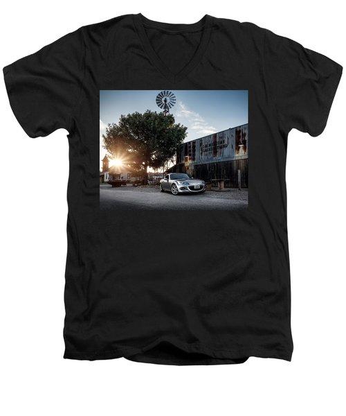 Little Drop Of Sunshine Men's V-Neck T-Shirt by Douglas Pittman