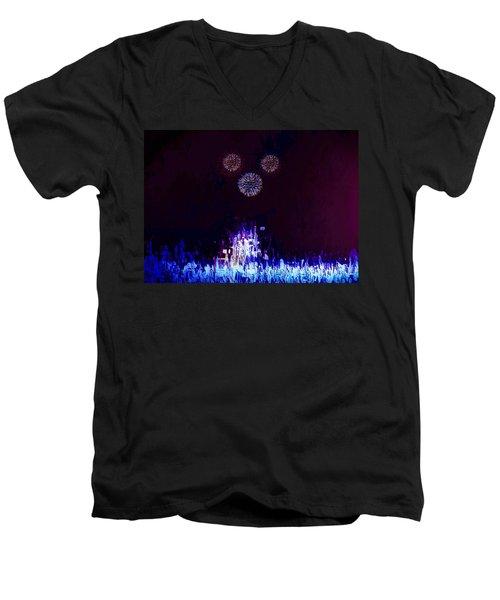 A Magical Night Men's V-Neck T-Shirt