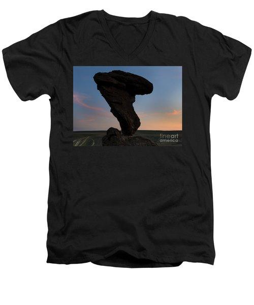 A Matter Of Balance Men's V-Neck T-Shirt