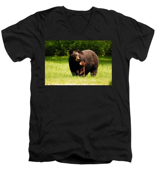 A Mothers Joy Men's V-Neck T-Shirt