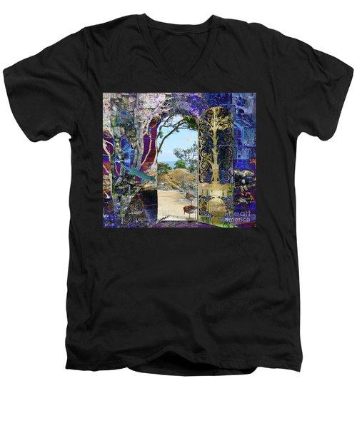 A Narrow But Magical Door Men's V-Neck T-Shirt