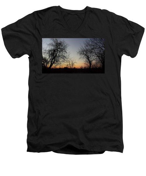A New Day Dawning Men's V-Neck T-Shirt