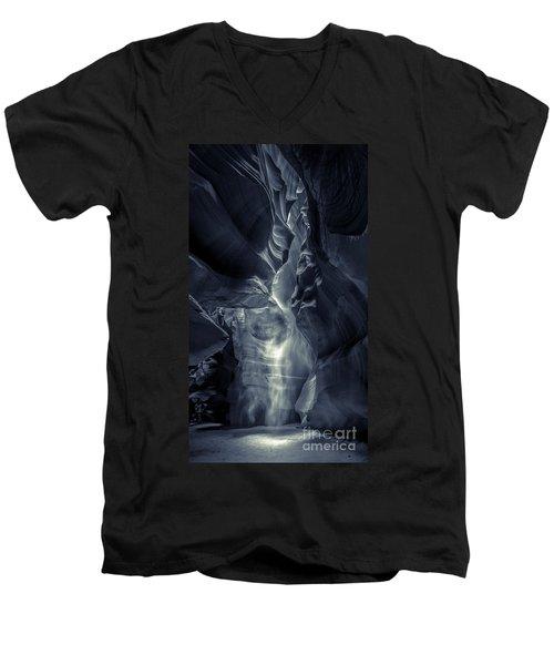A Phantom Emerges From Antelope Canyon Men's V-Neck T-Shirt