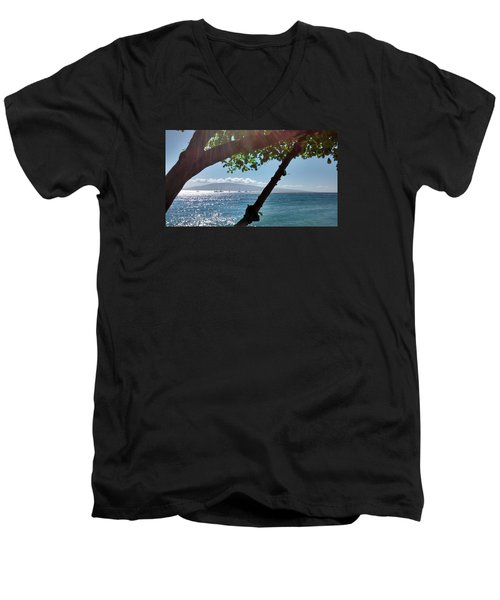 A Place To Stay Men's V-Neck T-Shirt