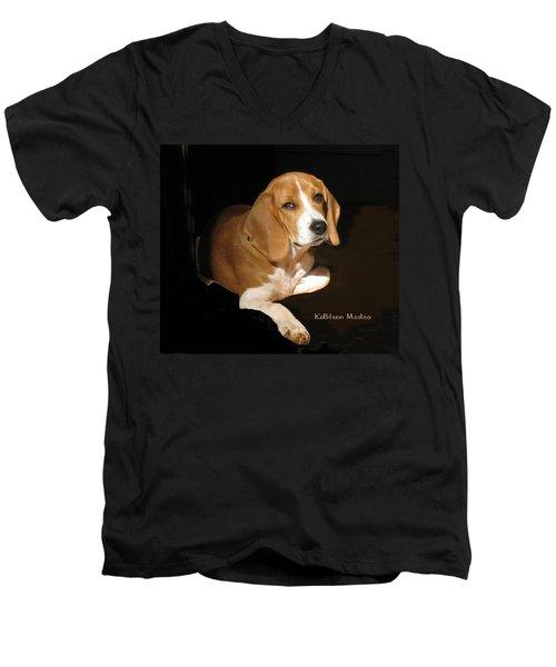 A Portrait Of Jerry Men's V-Neck T-Shirt