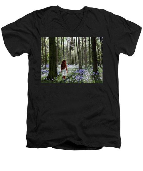 A Return To Innocence Men's V-Neck T-Shirt