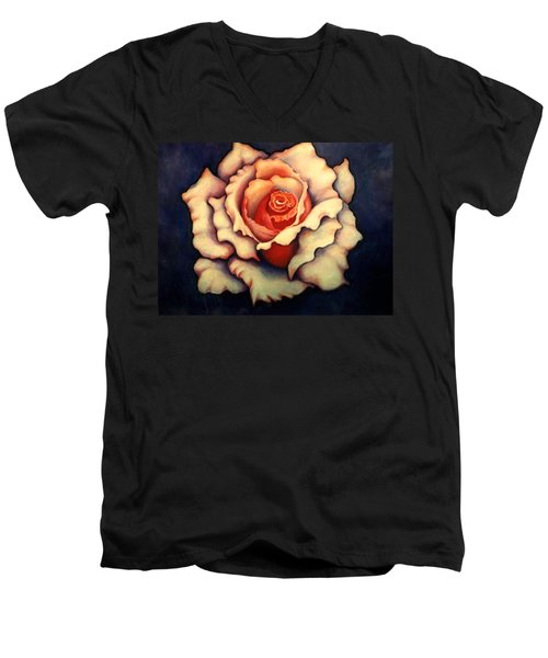 A Rose Men's V-Neck T-Shirt