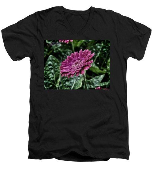 A Shade Of Purple Men's V-Neck T-Shirt
