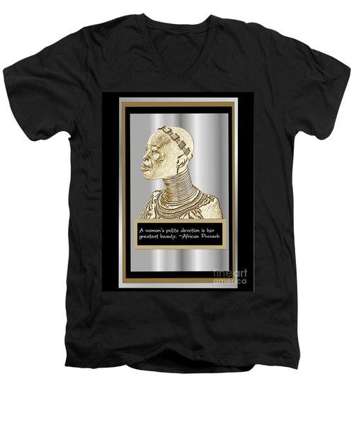 A Sisters Portrait 1 Men's V-Neck T-Shirt