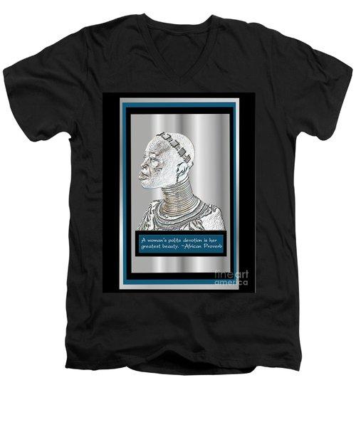 A Sisters Portrait 2 Men's V-Neck T-Shirt
