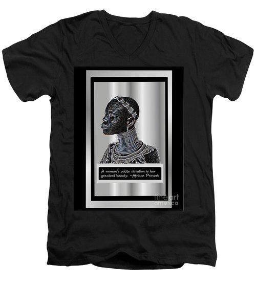 A Sisters Portrait Men's V-Neck T-Shirt