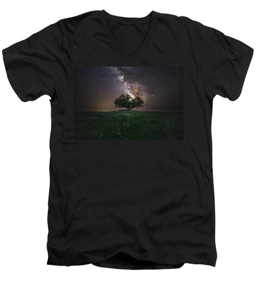 A Sky Full Of Stars Men's V-Neck T-Shirt