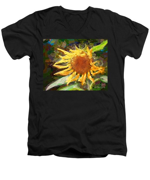 A Sunkissed Life Men's V-Neck T-Shirt by Tina LeCour