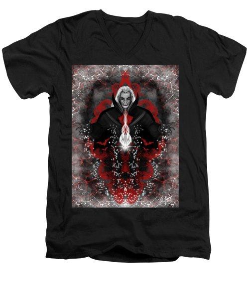 A Vampire Quest Fantasy Art Men's V-Neck T-Shirt