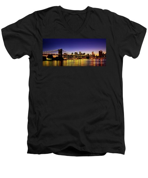 A View From Brooklyn Men's V-Neck T-Shirt