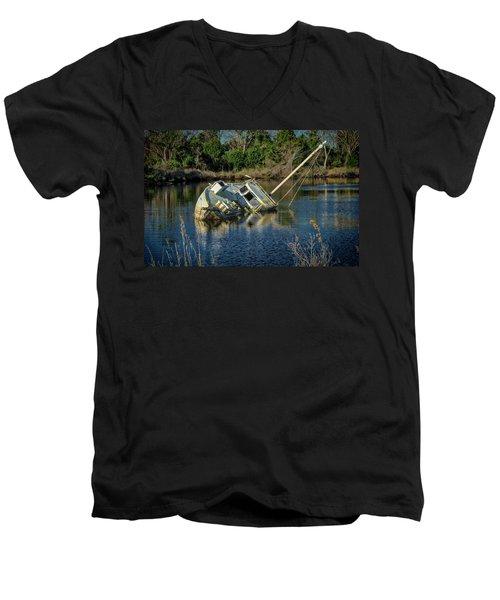 Abandoned Ship Men's V-Neck T-Shirt