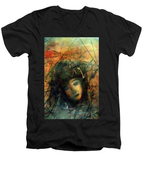 Abayence II Men's V-Neck T-Shirt