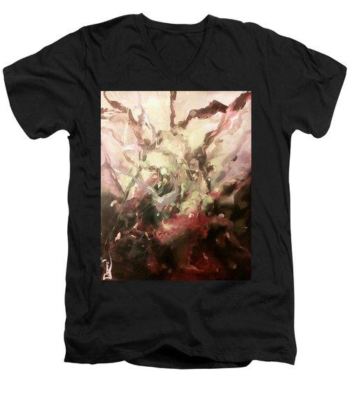 Abstract #01 Men's V-Neck T-Shirt