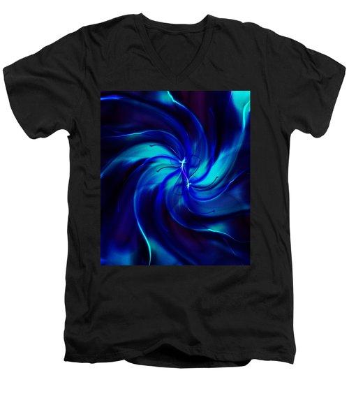 Abstract 070810 Men's V-Neck T-Shirt