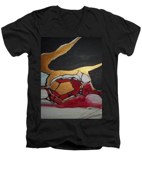 Abstract-11 Men's V-Neck T-Shirt