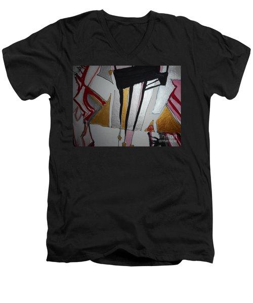 Abstract-13 Men's V-Neck T-Shirt