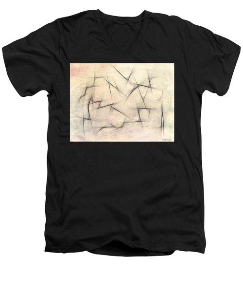 Abstract 1999 Men's V-Neck T-Shirt