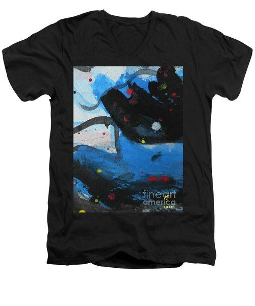 Abstract-26 Men's V-Neck T-Shirt