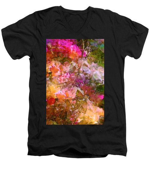 Abstract 276 Men's V-Neck T-Shirt