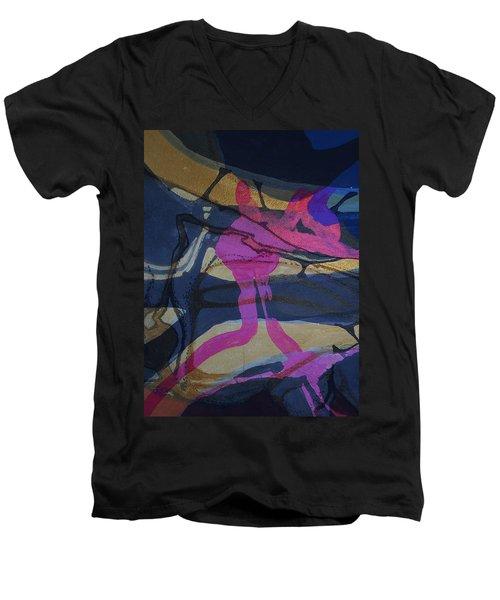 Abstract-33 Men's V-Neck T-Shirt