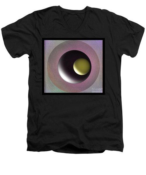 Abstract 702-2015 Men's V-Neck T-Shirt by John Krakora