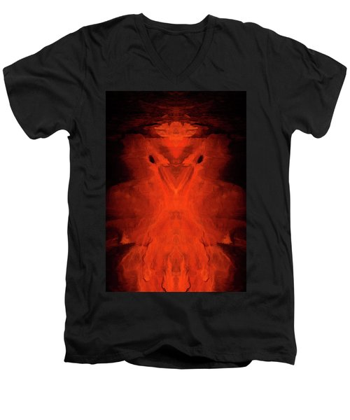 Abstract Bird 01 Men's V-Neck T-Shirt by Scott McAllister