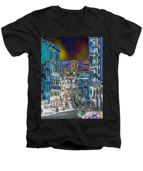 Abstract  Images Of Urban Landscape Series #11 Men's V-Neck T-Shirt
