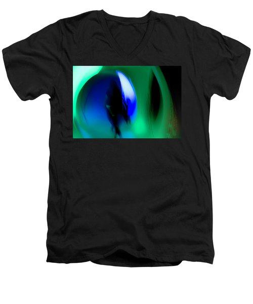 Abstract No. 2 Men's V-Neck T-Shirt