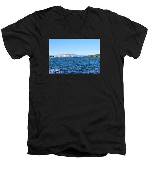 Acadia  Men's V-Neck T-Shirt