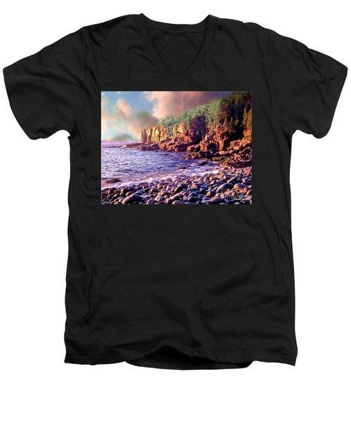 Acadia National Park Men's V-Neck T-Shirt