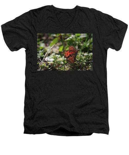 Ace Men's V-Neck T-Shirt