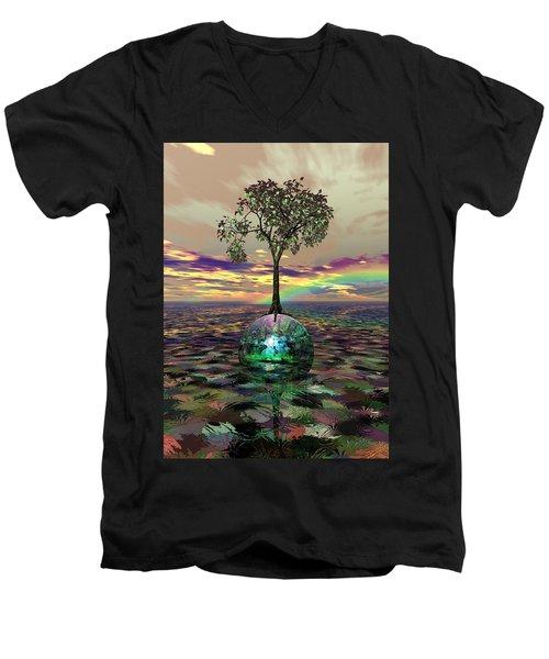 Acid Tree Men's V-Neck T-Shirt