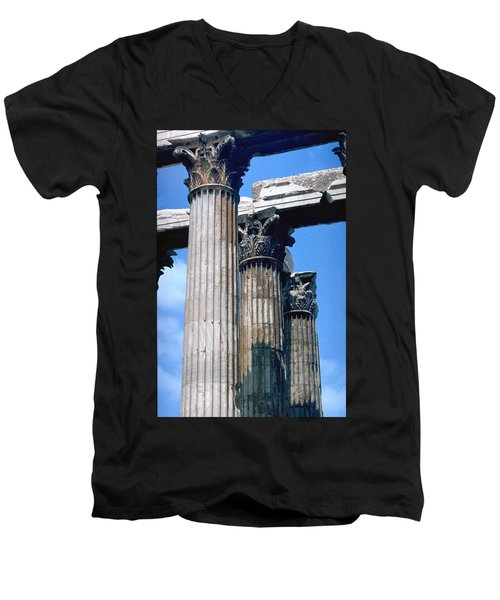 Acropolis Men's V-Neck T-Shirt