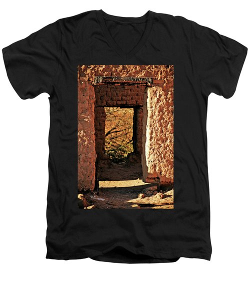 Adobe Ruin Men's V-Neck T-Shirt