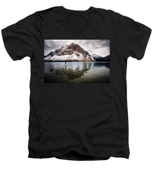 Adventure Unlimited Men's V-Neck T-Shirt by Nicki Frates