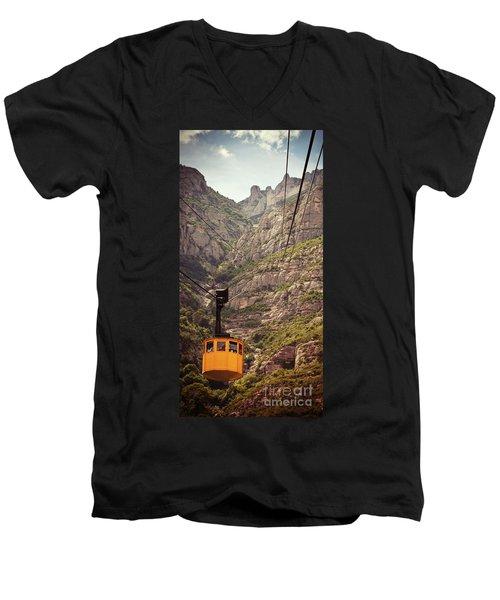 Aeri De Montserrat Men's V-Neck T-Shirt