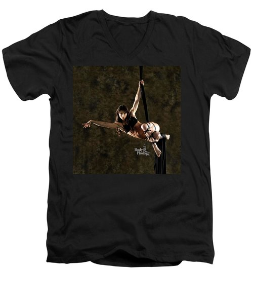 Aerial Ninja Men's V-Neck T-Shirt