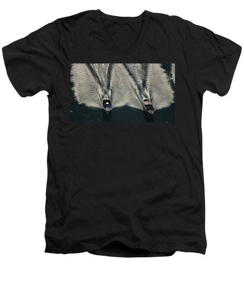 Aerial Wash Men's V-Neck T-Shirt