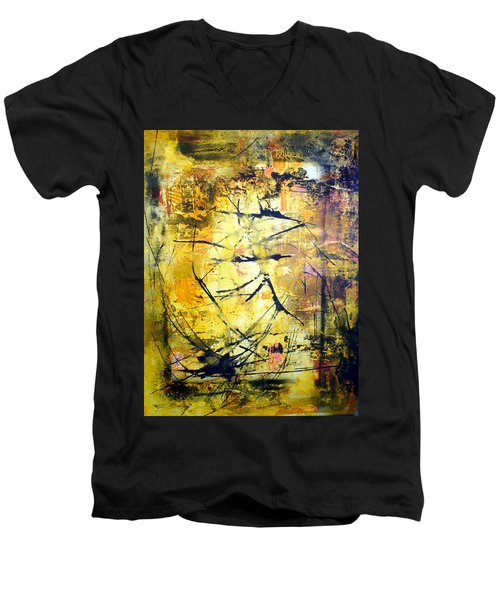 Aforethought Abstract Men's V-Neck T-Shirt