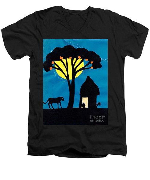 Africa Men's V-Neck T-Shirt