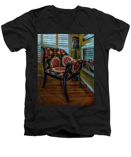 African Accent Furniture Men's V-Neck T-Shirt